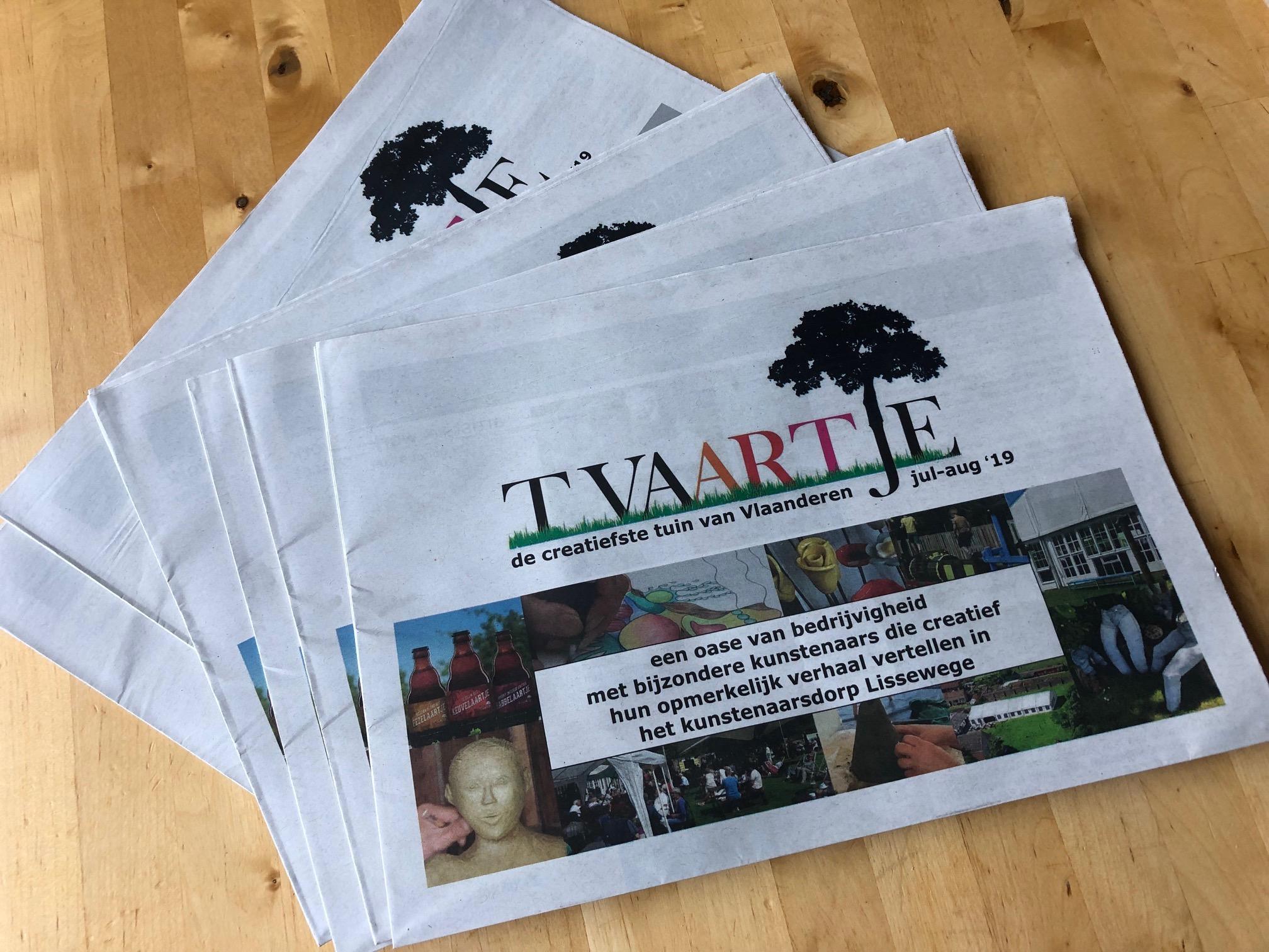 krant tVaartje 2019